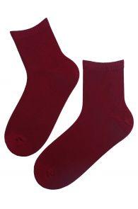 ALEX bordeaux viscose socks for men | BestSockDrawer.com