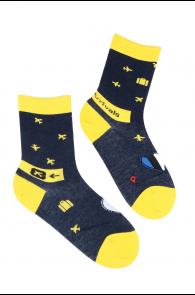 ARRIVALS travel-themed cotton socks | BestSockDrawer.com