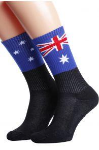 AUSTRALIA flag socks for men and women | BestSockDrawer.com