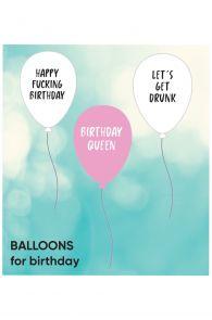 BIRTHDAY balloons 3 pack | BestSockDrawer.com