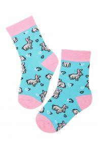 BUNNYLOVE cotton Easter socks for kids | BestSockDrawer.com