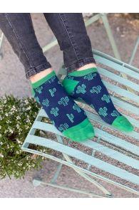 CACTUS low-cut cotton socks | BestSockDrawer.com