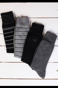 CALVIN KLEIN men's socks, 4-pack   BestSockDrawer.com