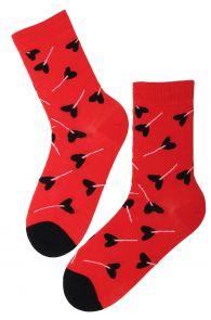 CANDY Valentine's Day socks for women | BestSockDrawer.com