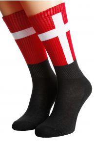 DENMARK flag socks for men and women | BestSockDrawer.com