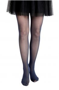 ECOCARE 40 DEN navy blue tights for children | BestSockDrawer.com