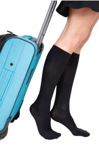 ECOCARE 70DEN black travel knee-highs | BestSockDrawer.com