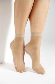 ECOCARE 20DEN beige socks | BestSockDrawer.com