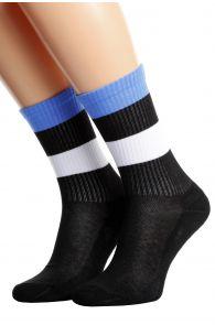 ESTONIA flag socks for men and women | BestSockDrawer.com