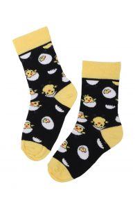 EGG CHICK cotton socks with chicks for children | BestSockDrawer.com