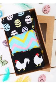 ROOSTER DAD gift box containing 3 pairs of socks | BestSockDrawer.com