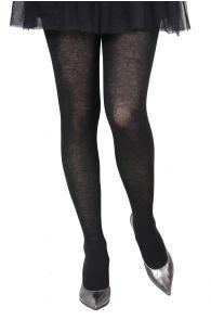 ELENA black tights containing silk | BestSockDrawer.com