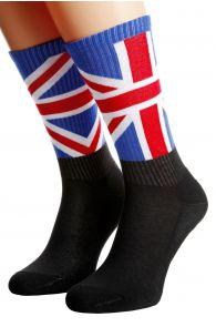 ENGLAND flag socks for men and women | BestSockDrawer.com