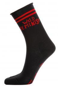 FEMINIST black cotton socks for women   BestSockDrawer.com