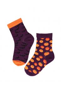FLYING BAT Halloween socks with bats for kids | BestSockDrawer.com