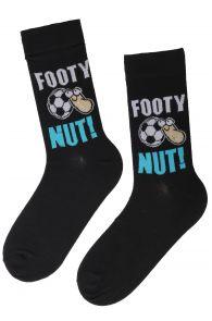 FOOTY novelty socks for men   BestSockDrawer.com