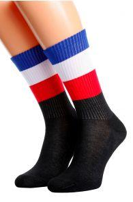 FRANCE flag socks for men and women | BestSockDrawer.com
