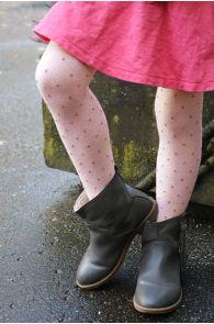 GAIA old pink tights for kids | BestSockDrawer.com