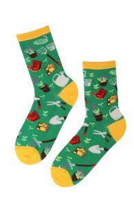 GARDEN cotton socks for horticultural lovers | BestSockDrawer.com