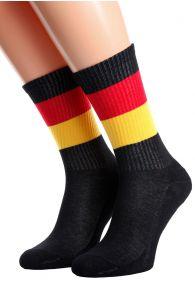 GERMANY flag socks for men and women | BestSockDrawer.com
