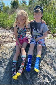 GOLDFISH cotton socks for kids | BestSockDrawer.com