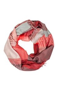 Alpaca wool and silk red checkered shawl | BestSockDrawer.com