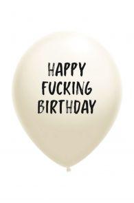 HAPPY FUCKING BIRTHDAY balloon | BestSockDrawer.com