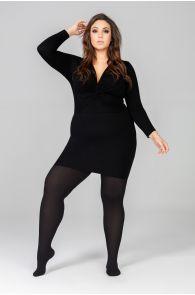 QUEEN PLUS 50DEN black tights | BestSockDrawer.com