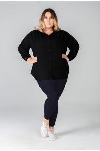 LUIZA queen size dark blue leggings | BestSockDrawer.com