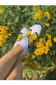 BUTTERFLY low cut cotton socks | BestSockDrawer.com