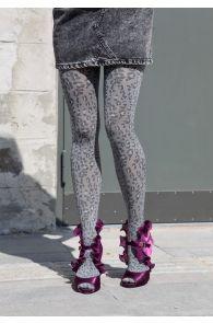 ALBA grey 60DEN tights for women   BestSockDrawer.com