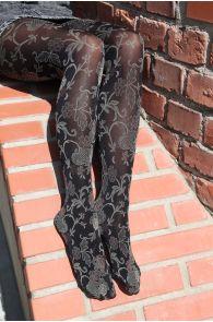 DAISY black 60DEN tights for women   BestSockDrawer.com