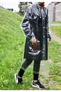 Transparent reusable raincoat | BestSockDrawer.com
