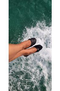 LISSABON black footies for women   BestSockDrawer.com