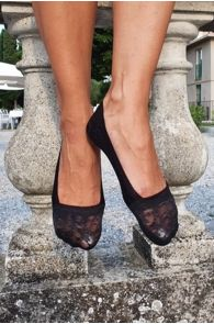 ISTANBUL black footies for women | BestSockDrawer.com