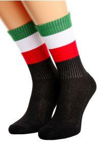 ITALY flag socks for men and women | BestSockDrawer.com