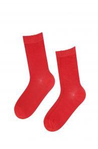 JANNE women's red socks | BestSockDrawer.com