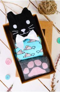 KITKAT gift box for women containing 3 pairs of socks | BestSockDrawer.com
