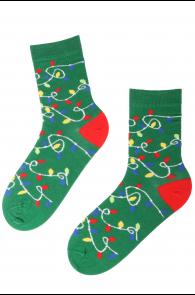 PARTY LIGHT cotton socks | BestSockDrawer.com