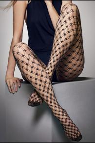 LILLY double-net mesh tights | BestSockDrawer.com