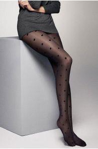 LOLA 20 DEN dotted tights | BestSockDrawer.com
