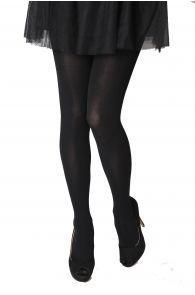 LIISBET black cotton women's tights | BestSockDrawer.com