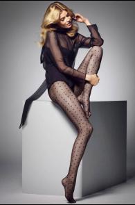 MYRIAM 20DEN polka dot tights for women | BestSockDrawer.com
