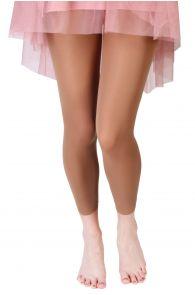 SUSAN beige leggings | BestSockDrawer.com