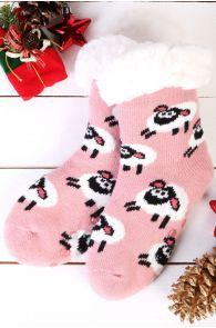 NIILO cute anti-slip home socks for kids   BestSockDrawer.com