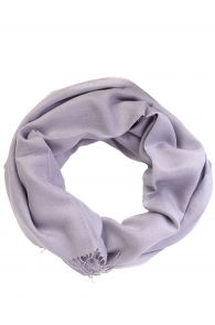 Alpaca wool and silk purple grayish shawl | BestSockDrawer.com