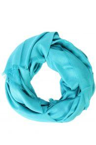 Alpaca Royal wool and silk turquoise shawl | BestSockDrawer.com