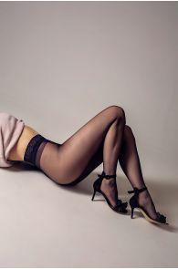 OLIVIA 20 DEN black tights | BestSockDrawer.com