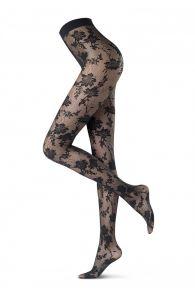 Oroblu JASMINE 30DEN marine tights | BestSockDrawer.com