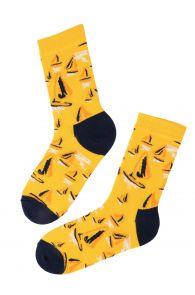 SAILING cotton socks in bright tones   BestSockDrawer.com